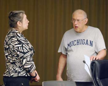 Sabra Briere, Don Salberg, Ann Arbor planning commission, The Ann Arbor Chronicle