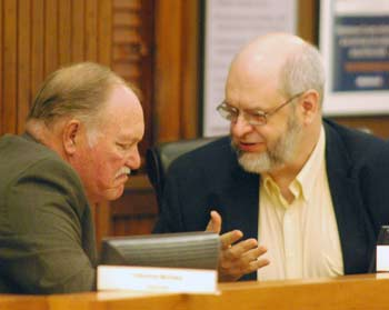 Donald Shelton, Larry Kestenbaum, Washtenaw County election commission, The Ann Arbor Chronicle
