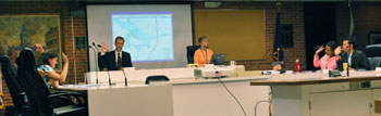 Both votes a the Aug. 7, 2013 planning commission were unanimous among the six commissioners present.