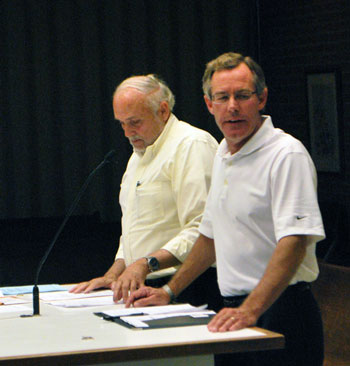 From left: Steve Weaver and Scott Betzoldt.