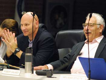 Graydon Krapohl, Bob Galardi, Ann Arbor park advisory commission