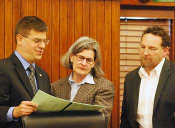 Dan Smith, Catherine McClary, Conan Smith, Washtenaw County board of commissioners, The Ann Arbor Chronicle