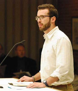 Alex Perlman, The Beet Box, Eat the Hub, Ann Arbor planning commission, The Ann Arbor Chronicle