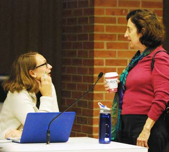 Missy Stults, Karen Levin, Ann Arbor park advisory commission, The Ann Arbor Chronicle