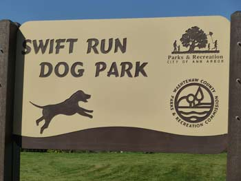 Swift Run Dog Park, Washtenaw County parks & recreation, The Ann Arbor Chronicle
