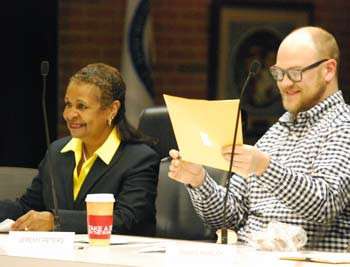 Wendy Woods, Jeremy Peters, Ann Arbor planning commission, The Ann Arbor Chronicle