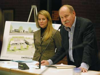 Steve Germain, Jessica Germain, Germain Motors, Ann Arbor planning commission, The Ann Arbor Chronicle