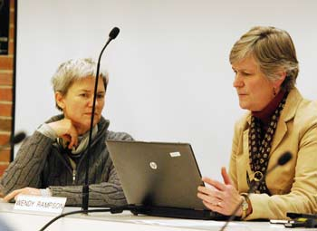 Bonnie Bona, Wendy Rampson, Ann Arbor planning commission, The Ann Arbor Chronicle