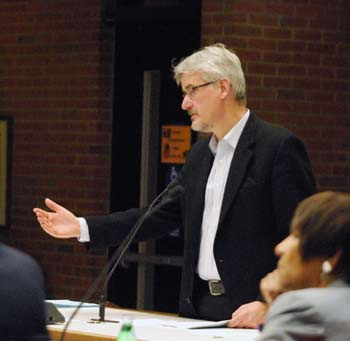 Scott Bonney, Neumann/Smith Architects, Ann Arbor planning commission, The Ann Arbor Chronicle