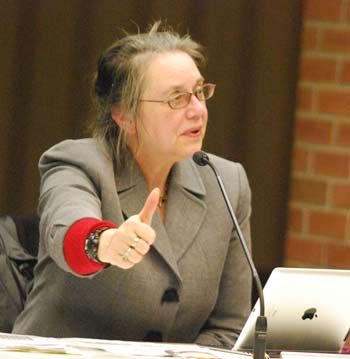 Sabra Briere, Ann Arbor planning commission, The Ann Arbor Chronicle