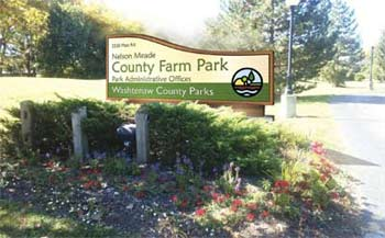 Nelson Meade, County Farm Park, Washtenaw County parks & recreation commission, The Ann Arbor Chronicle