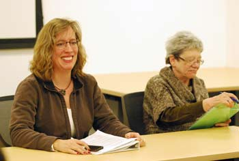 Julie Weatherbee, Wendy Carman, Ann Arbor planning commission, The Ann Arbor Chronicle
