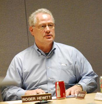 DDA board member Roger Hewitt