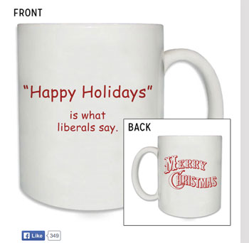 Liberals say Happy Holidays