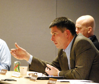 On Dec. 4, 2013, city administrator Steve Powers attended his first DDA board meeting as a member.