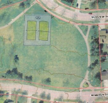 Windemere Park, tennis courts, Ann Arbor park advisory commission, The Ann Arbor Chronicle