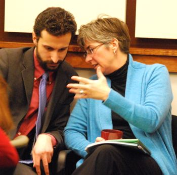 Yousef Rabhi, Mary Jo Callan, Washtenaw County board of commissioners, The Ann Arbor Chronicle