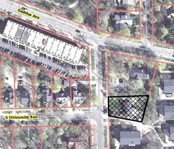 The Ann Arbor Chronicle | Site Plan for Sorority on Oxford ...