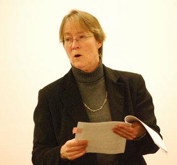 Assistant city attorney Abigail Elias