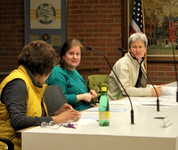 Eleanore Adenekan, Diane Giannola, Bonnie Bona, Ann Arbor planning commission, The Ann Arbor Chronicle