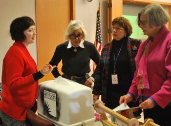 Mariah Cherem, Jan Barney Newman, Rebecca Head, Margaret Leary, Ann Arbor District Library, The Ann Arbor Chronicle