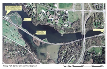 Gallup Park, Border to Border trail, Ann Arbor park advisory commission, The Ann Arbor Chronicle