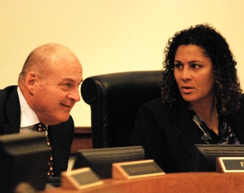 Curtis Hedger, Felicia Brabec, Washtenaw County board of commissioners, The Ann Arbor Chronicle
