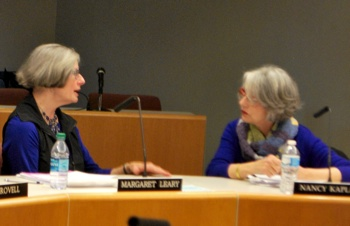 Margaret Leary, Nancy Kaplan, Ann Arbor District Library, The Ann Arbor Chronicle