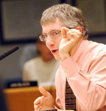 AAATA board member Jack Bernard.