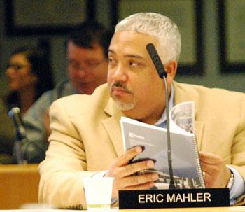 AAATA board member Eric Mahler.