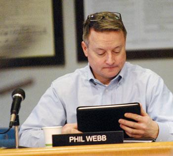 AAATA controller Phil Webb.