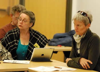 Sabra Briere, Bonnie Bona, Ann Arbor planning commission, The Ann Arbor Chronicle
