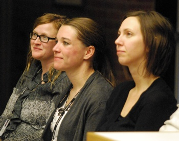 Tina Rosselle, Becky Gajewski, Erika Pratt, Ann Arbor park advisory commission, The Ann Arbor Chronicle