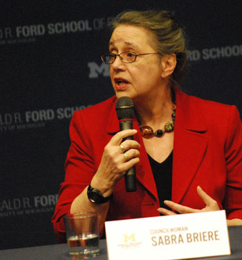 Mayoral candidate: Sabra Briere