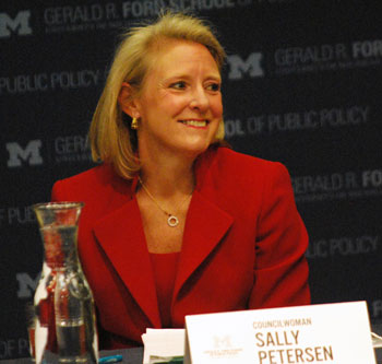 Mayoral candidate: Sally Petersen