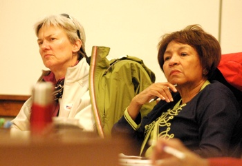 Bonnie Bona, Eleanor Adenekan, Ann Arbor planning commission, The Ann Arbor Chronicle