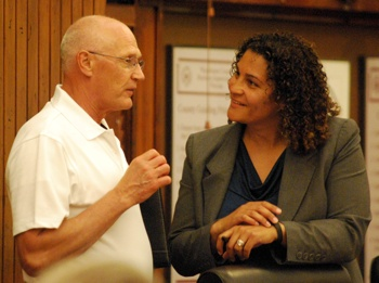 Rick Olson, Felicia Brabec, Washtenaw County board of commissioners, The Ann Arbor Chronicle