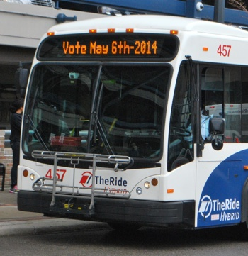 Ann Arbor Area Transportation Authority, The Ride, AAATA, The Ann Arbor Chronicle