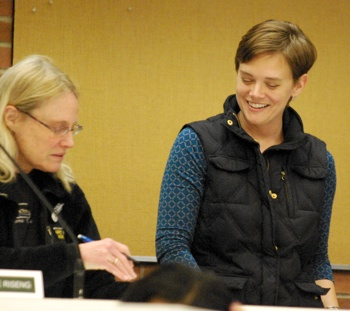 Ginny Trocchio, Catherine Riseng, Ann Arbor greenbelt advisory commission, The Ann Arbor Chronicle