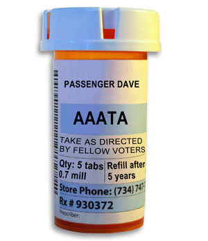 (AAATA is not the name of an actual prescription drug.)