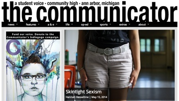 Community High School, The Communicator, The Ann Arbor Chronicle