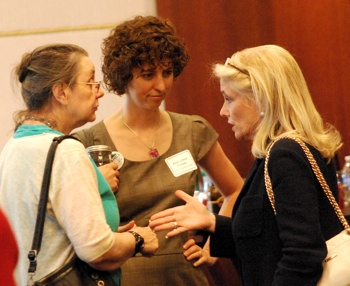 Sabra Briere, Amanda Edmonds, Debbie Dingell, The Ann Arbor Chronicle