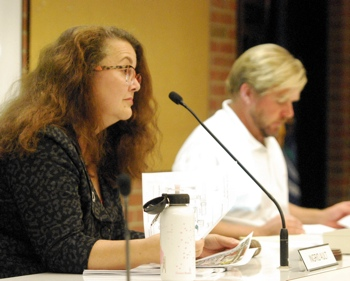 Ingrid Ault, Colin Smith, Ann Arbor park advisory commission, The Ann Arbor Chronicle