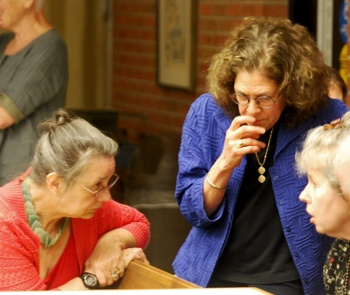 Sabra Briere, Diane Robins, Ann Arbor planning commission, The Ann Arbor Chronicle