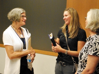 Margaret Leary, Nicole Wallace, Josie Parker, Ann Arbor District Library, The Ann Arbor Chronicle