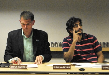 Steve Powers, Rishi Narayan, Ann Arbor DDA, The Ann Arbor Chronicle