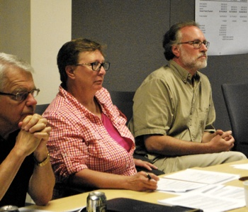Bob Guenzel, Sandi Smith, John Mouat, Ann Arbor DDA, The Ann Arbor Chronicle