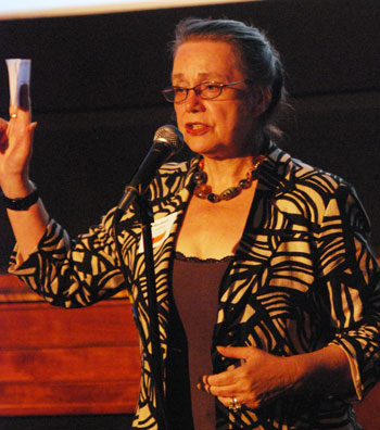 Ann Arbor mayoral candidate Sabra Briere.