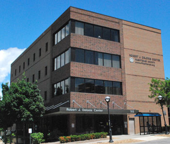 The Delonis Center on W. Huron Street is, for many, the face of the Ann Arbor s  effort to shelter the homeless.
