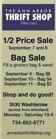 A2 Thrift Shop Bag Sale Sept 10